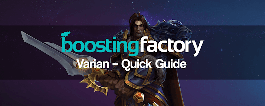 HotS | Varian – Quick Guide (Damage & Tank Build, Tips, Counters)