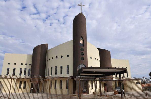 Igreja católica São Vicente de Paula em Taguatinga - Ed Alves/CB/D.A Press