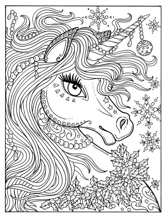 5100 Colouring Pages Unicorn Ice Cream Download Free Images