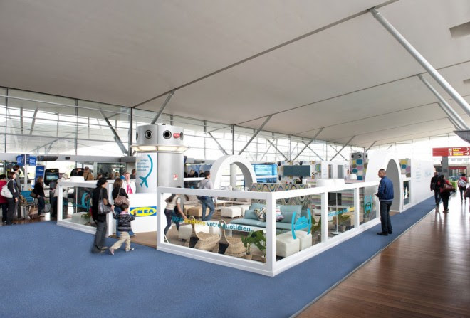 What, No Meatballs?! IKEA's VIP Airport Lounge | Wired Design | Wired.