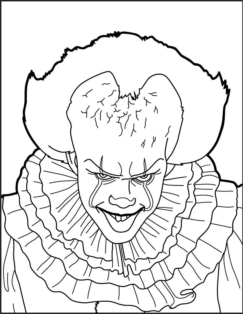 Dibujos Para Colorear It Pennywise Eshellokidscom