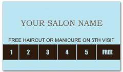 CPS-1014 - salon coupon card