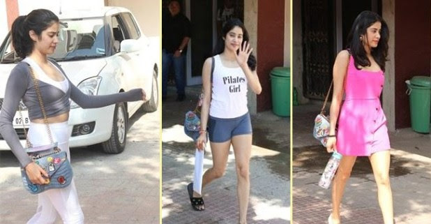 Janhvi Kapoor never shies away to flaunt her LV bag again and again