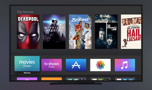 tvOS gets even better with better Siri, More apps, iPhone remote support and a new dark theme - Techie Avenue
