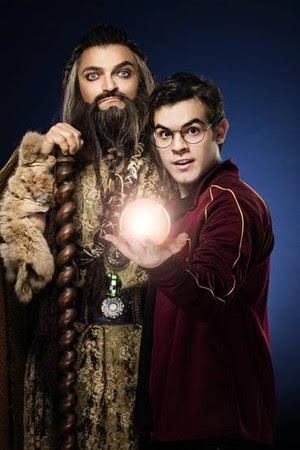 aprendiz de feiticeiro (Foto: Fotos de Gabriel Wickbold/Divulgação)
