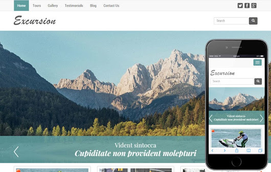 Excursion a Travel Guide Flat Bootstrap Responsive web template by w3layouts