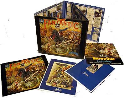 Captain Fantastic 30 year Deluxe Edition package