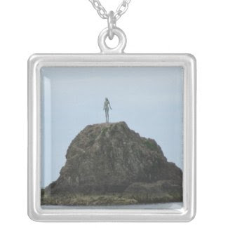 Lady on the Rock necklace