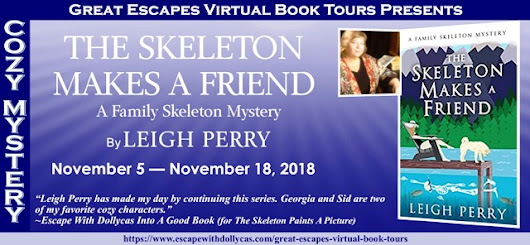 Giveaway - The Skeleton Makes A Friend by Leigh Perry @Family_Skeleton @dollycas - fundinmentalfundinmental
