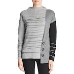 Nic+Zoe | Toggled Stripe Sweater | Multi
