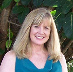 Headshot for author Judy Moore