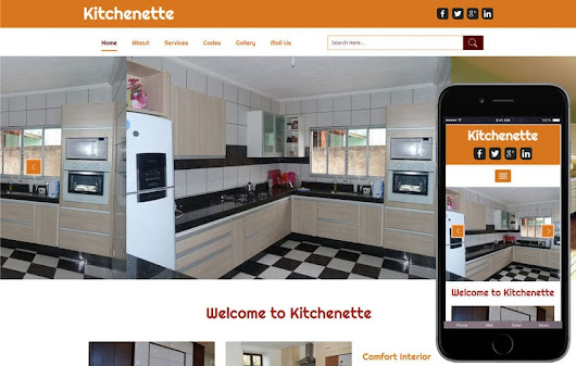 Kitchenette a Interior Category Flat Bootstarp Responsive Web Template