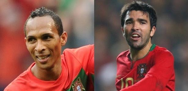 Liedson e Deco já defenderam Portugal em Copa do Mundo, mas ficaram fora da Euro-12