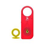 Xit Audio Clip x Clip & Play Wireless Bluetooth Speaker w/ Built-In Mic - Red AXTCXR