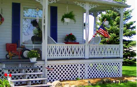 Country Porch Decorating Ideas | Country Porch | Front Porch ...