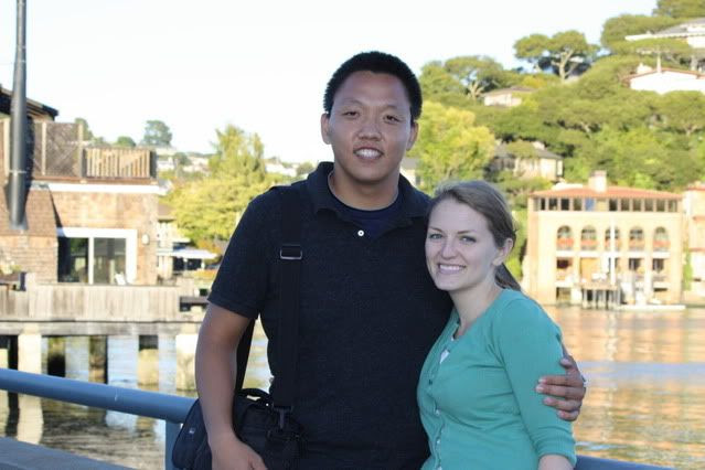 Michael and Michelle at Tiburon, Aug. 2011