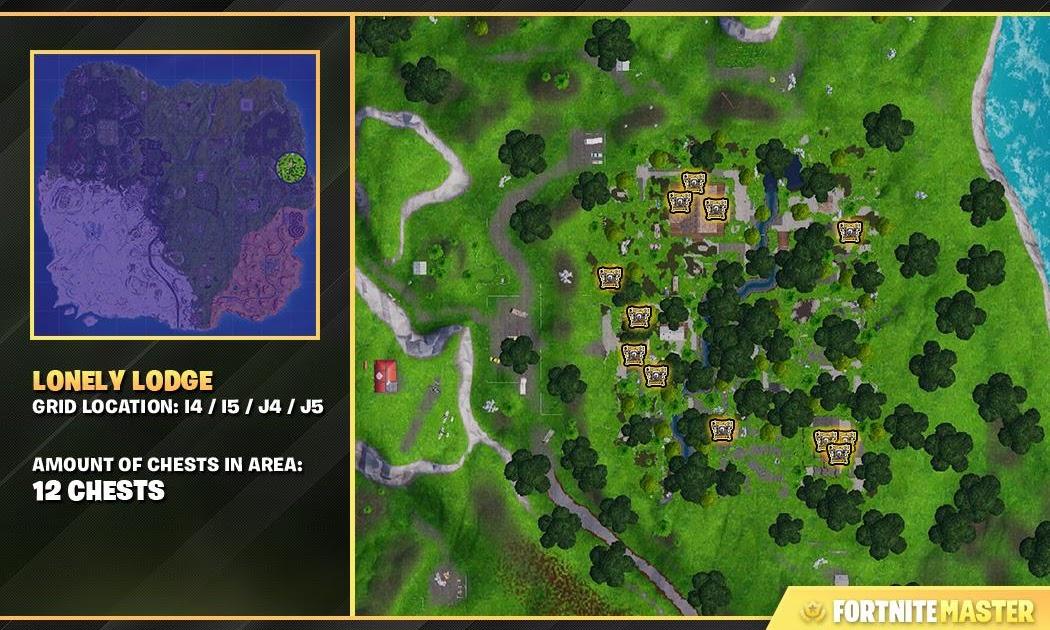 Wooden Pallets Locations Fortnite Season 7