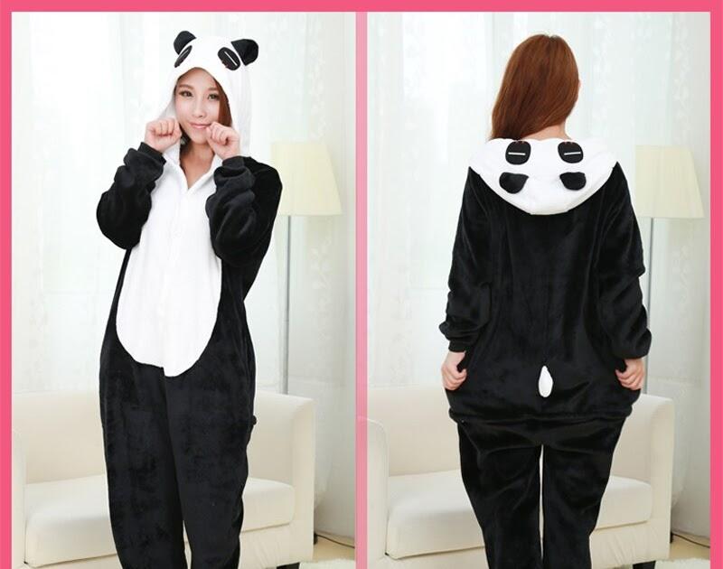8dafe36a76 Comprar Navidad Franela Pijamas Panda Pijama Cartoon Animal Adulto Traje De  Dormir Lindo Calidad Superior Pigiama Donna Online Baratos