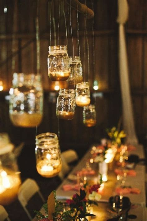 Wedding Decor Ideas Featuring The Beloved Mason Jar