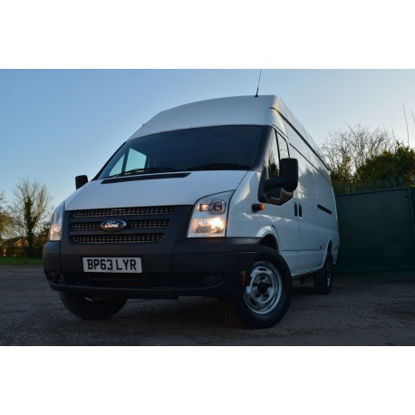 Used 2014 Ford Transit T350 RWD 2.2 125ps LWB High Roof Panel Van For Sale