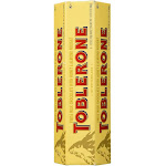 Toblerone, Swiss Milk Chocolate Bars, 3.52 oz, (Pack of 6), Size: 600 G