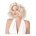 Sexy Marilyn Costume Wig - Blonde