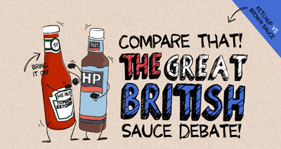 Compare THAT! The Great British sauce debate - Covered mag, presented by Gocompare.com