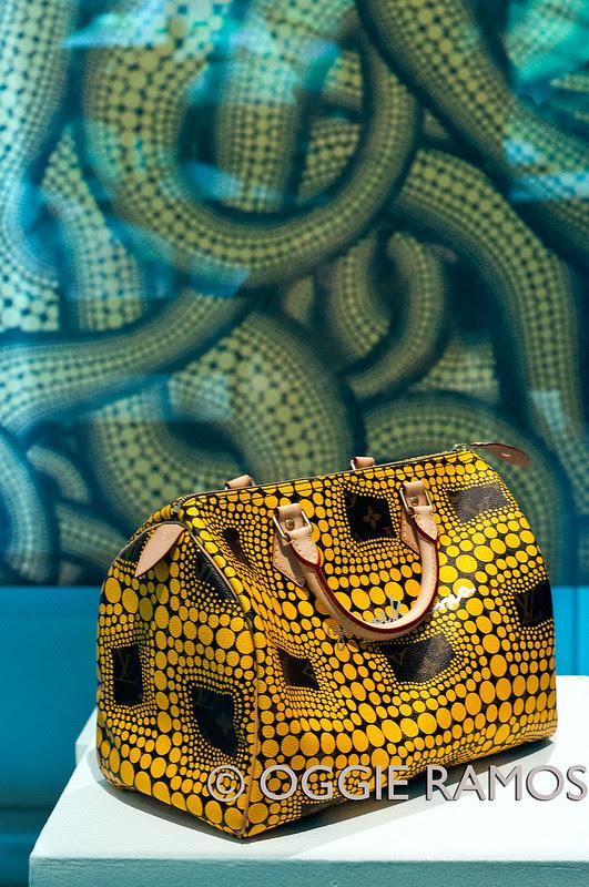 Ayala Kusama Exhibit -Vuitton Bag