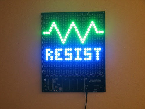 Resist1- Wall hanging