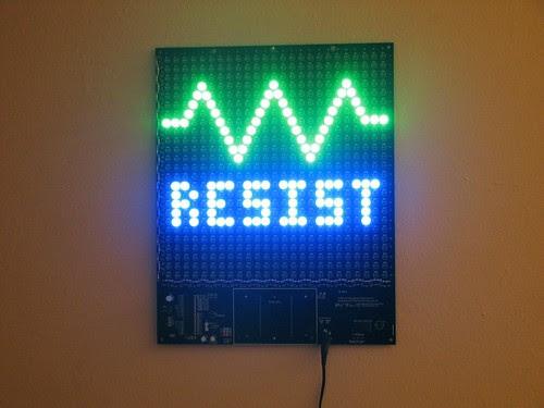 Resist1- Wall hanging
