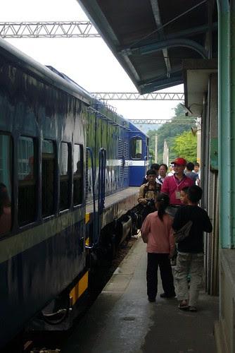 泰安站月台