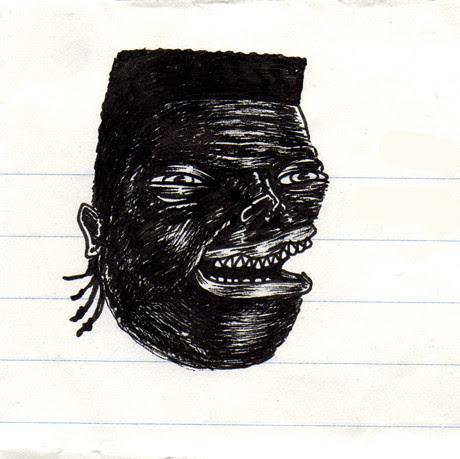 ink pen drawing