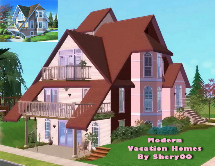 Mod The Sims - Modern Vacation Homes ~ Basegames Only