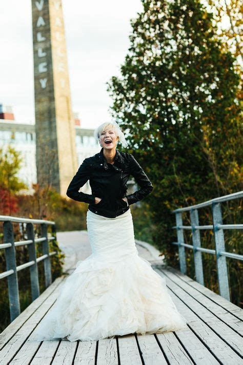 27 Chic Ways To Rock A Leather Jacket At Your Wedding