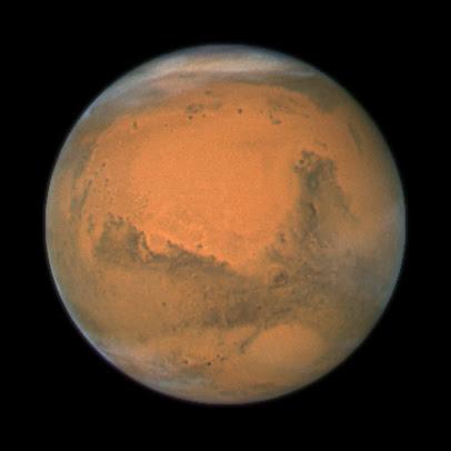 Marte en oposición 2007