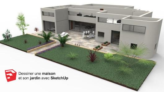 sketchup garden google. Black Bedroom Furniture Sets. Home Design Ideas
