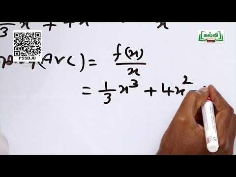 11th Business Maths வணிகம் (ம) பொருளாதாரத்தில் வகையீடுகளின் பயன்பாடுகள் அத்தியாயம் 6 பகுதி 1 Kalvi TV