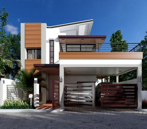 Desain Rumah Mewah 2 Lantai Untuk Keluarga Bahagia Rumahminimalis Com