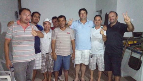 Samuel,Israel,Nakata,Mão branca,Everaldo,Valdir e Assis do hospital