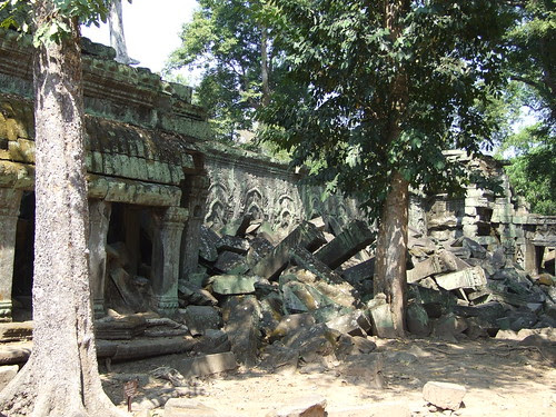 How long can Ta Prohm stand?