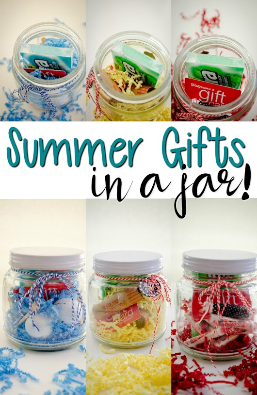 Summer Gifts in a Jar - A Grande Life