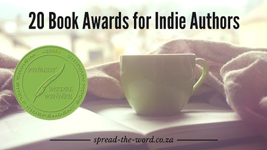 20 Book Awards for Indie Authors - Spread-The-Word