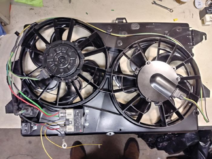 A Tauru Electric Fan Controller Wiring With A Volvo