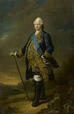 1771 portrait painting of Louis de Bourbon, Count of Clermont by François Hubert Drouais.jpg