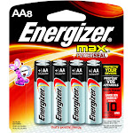 Energizer Max Alkaline Batteries - 8 count