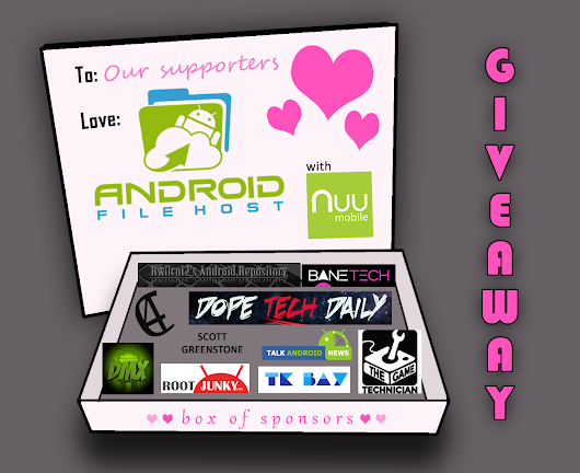 Valentine's Day Giveaway - We Love You!!! - EpicDroid