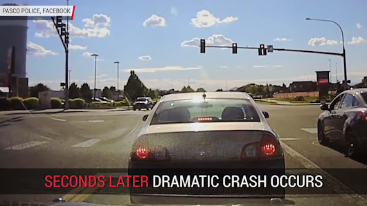 Dashcam Captures Close Call | Autoblog Minute