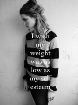 Quote Depression Food Fat Body Ugly I Hate Myself Unhealthy Im Fat I