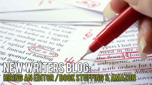 AOE Studios Writer's Blog: Finding An Editor / Book Stuffing and Amazon – The Wonderfully Weird