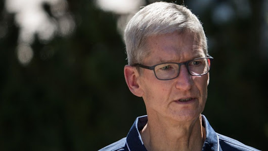 Apple boss Tim Cook joins Donald Trump condemnation - BBC News